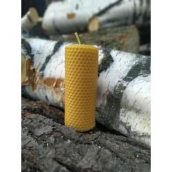 Świeca z wosku pszczelego -...